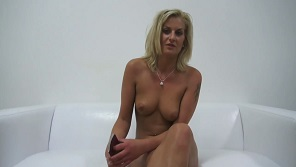 Czech Casting – Horny blonde milf at her first casting