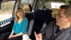Czech Taxi – Czech chick fucks in taxi