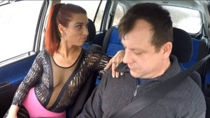 Real czech whore does carsex