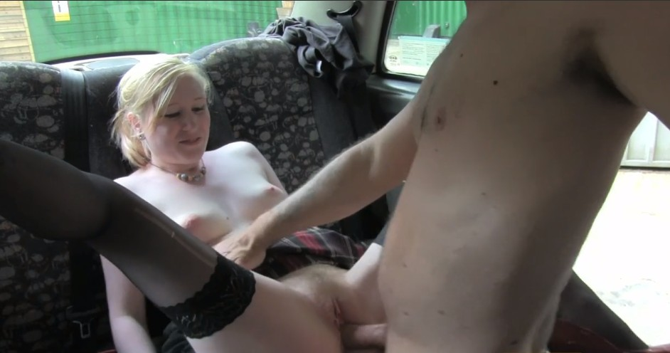 Fake Taxi – Busty amateur blonde fucked on backseat in taxi