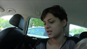 Public Agent – Brunette with short hair fucked in public