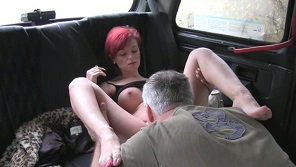 Faketaxi – Hot mature bitch fucked hardly on backseat of fake taxi