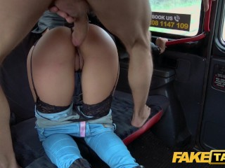 Fake Taxi – Busty latina enjoys big cock inside her pussy