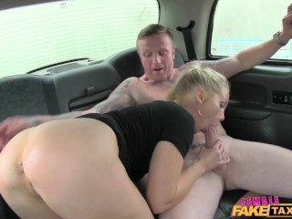 FemaleFakeTaxi – Busty blonde knows how to work with cock